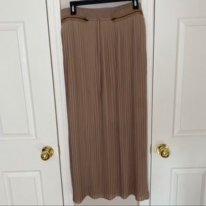 Worthington sheer maxi skirt